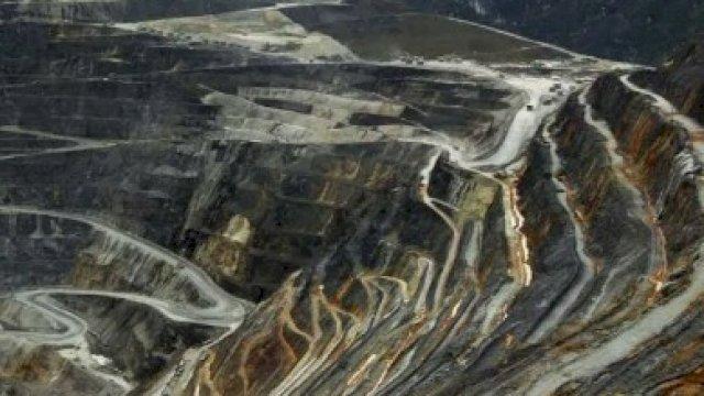(Ilustrasi) / Kondisi tambang terbuka di Grasberg milik PT Freeport Indonesia, Papua, beberapa waktu lalu. FOTO: Antara