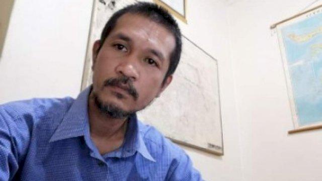 Direktur LBH Makassar Muhammad Haedir. (Dokpri).