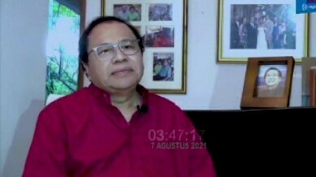 Pakar Ekonom Rizal Ramli. (alam/trotoar).