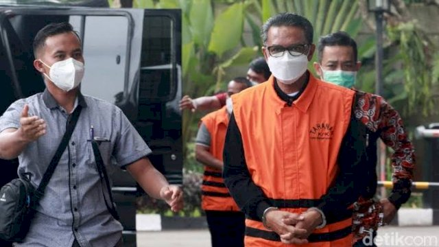 Terdakwa Kasus Dugaan Suap dan Gratifikasi Gubernur Sulsel Non Aktif Nurdin Abdullahn