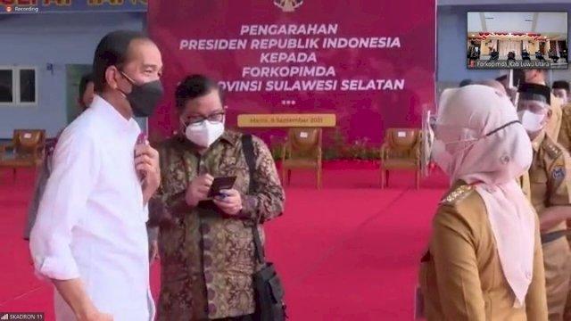 Bincang Dengan Presiden, IDP Ajak Jokowi Ke Luwu Utara