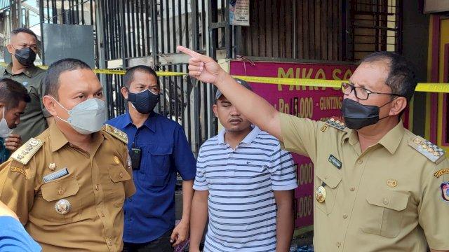 Kunjungi Kebakaran Depan GOR Sudiang, Danny: Waspada Instalasi Listrik yang Rentan