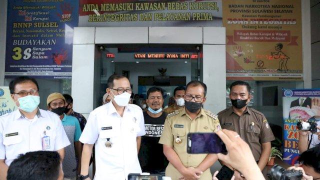 Pemkot Makassar – BNN Sulsel Komitmen Berantas Narkoba