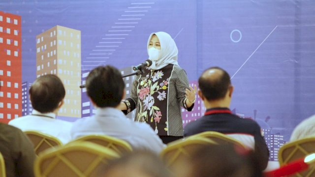Wakil Walikota Makassar, Fatmawati Rusdi.
