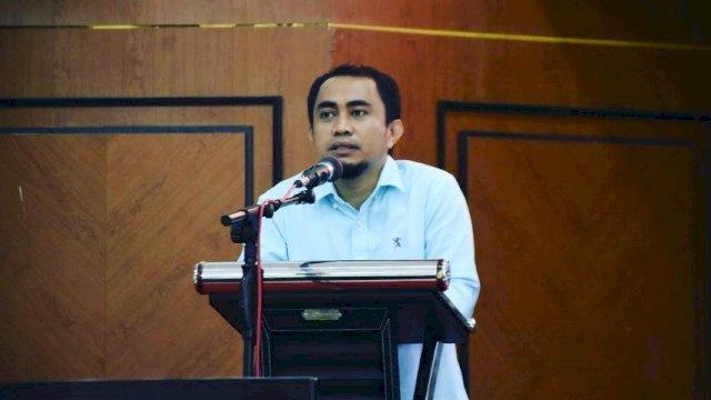 Kepala Bidang (Kabid) Peningkatan Prestasi Olahraga Dispora Sinjai, Saifullah Ahmad.