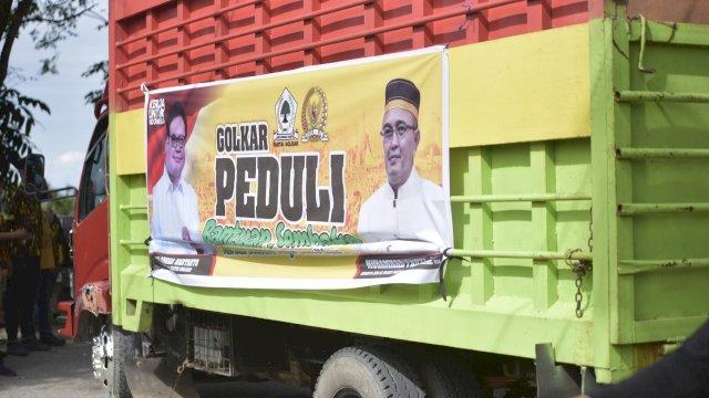 Anggota DPR RI Muhammad Fauzi Salurkan 1000 Paket Sembako Korban Banjir Lutra