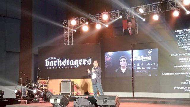 Pelantikan dan Rakernas Forum Backstagers Indonesia Diselenggarakan di Makassar