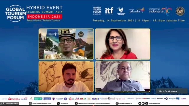 Ma'ruf Amin dan Wapres Turki Akan Buka Global Tourism Forum 2021 Leaders Summit Asia
