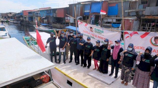 Para Relawan Kawan Sandi di Makassar.