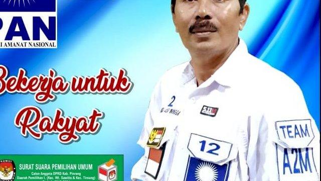 Sekertaris PAN Pinrang Loncat ke Gerindra