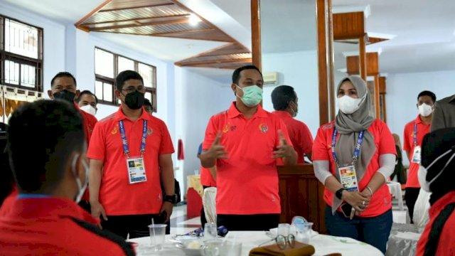 Plt Gub, Ketua DPRD hingga Kapolda Sulsel Hadiri Langsung Pembukaan PON XX Papua