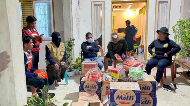 Tim Relawan Pramuka Luwu Utara Bawa Bantuan Logistik untuk Korban Banjir di Walmas