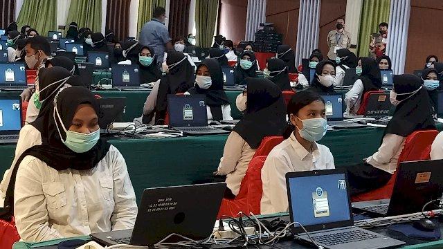 2.706 Peserta Ikut SKD CPNS di Luwu Utara, 324 Orang Tak Hadir, 3 Reaktif COVID-19