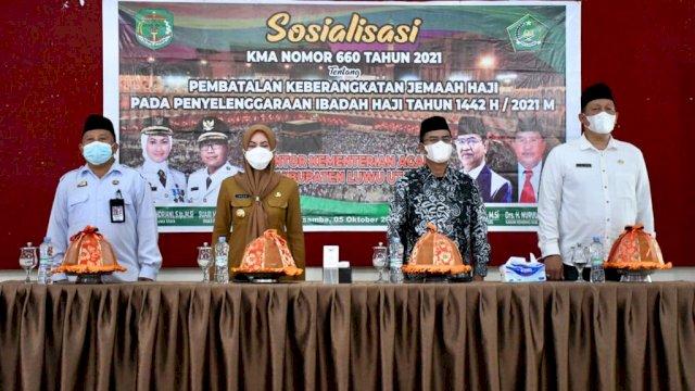 Kemenag Sulsel Sosialisasi KMA Nomor 660 tentang Pembatalan Pemberangkatan Jemaah Haji
