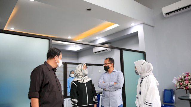Walkot Makassar Resmikan Swab House, PCR Dibanderol Seharga Rp380 Ribu dan Antigen Rp35 Ribu
