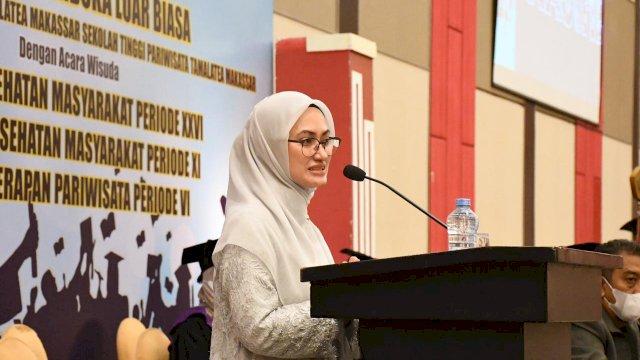 Bawakan Orasi Ilmiah di STIK Tamalatea, IDP Ungkap Inovasi Atasi Stunting di Luwu Utara