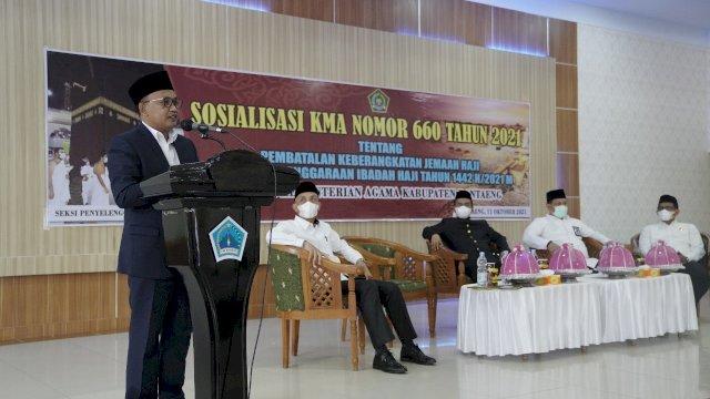 Bupati Bantaeng, Ilham Azikin. (Dok: Alimin)