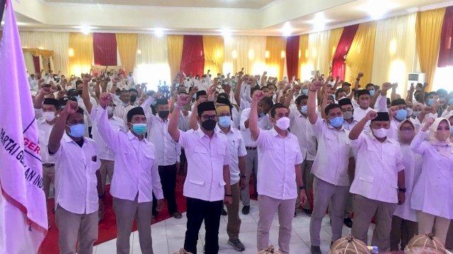 Gerindra Pangkep Mulai Tancap Gas, Target Rebut Kursi Ketua DPRD