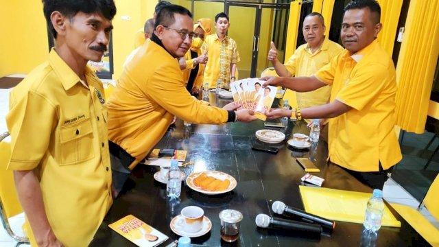 Muhammad Fauzi Ajak Kader Pinrang Sosialisasikan Airlangga Hartarto Presiden