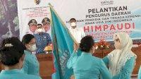 Majdah Resmi Lantik Pengurus Himpaudi Tana Toraja 2021-2025