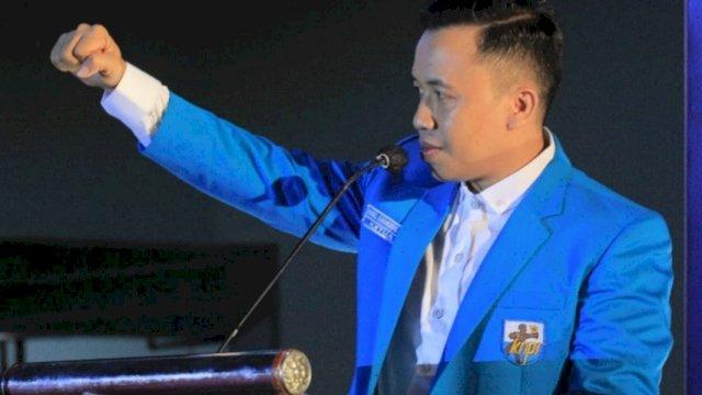 Ketua KNPI Makassar, Hasrul Kaharuddin.