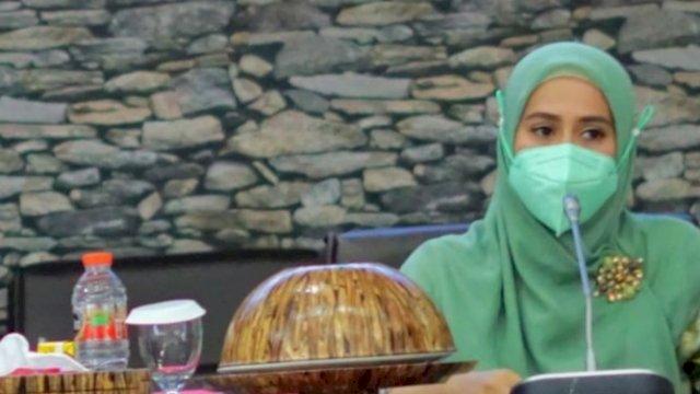 Ketua PKK Sinjai, Andi Nurhilda Daramata Seto.