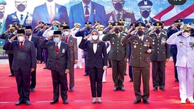 Hadiri Perayaan HUT TNI ke 76, Ini Pesan Ketua DPRD Sulsel