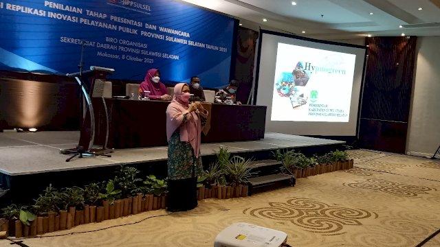 Kompetisi Replikasi Inovasi Pelayanan Publik (KRIPP) Tingkat Provinsi Sulawesi Selatan resmi memasuki tahapan presentasi dan wawancara. Salah satu replikasi inovasi yang ikut dalam kompetisi ini adalah Hypnogreen, inovasi Dinas Kesehatan Luwu Utara.